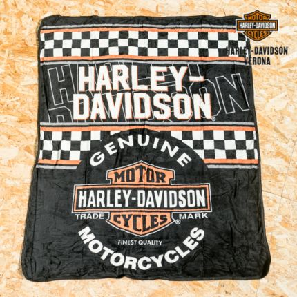 Coperta in pile Harley-Davidson® ''Raschel Throw''