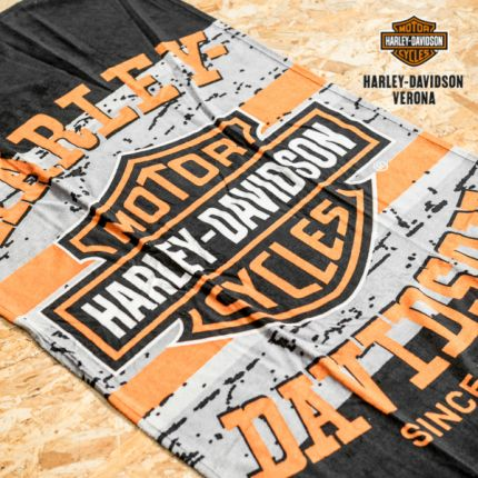 Harley-Davidson® Pavement Bar & Shield Beach Towel