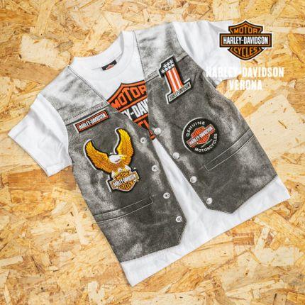 T-shirt stampa giacca di pelle Harley-Davidson®