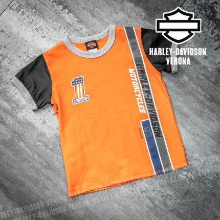 T-Shirt Bimbo Harley-Davidson® Ringer
