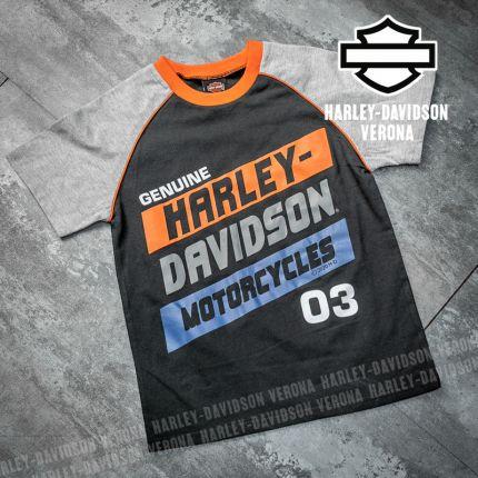 T-Shirt bimbo Harley-Davidson® Raglan