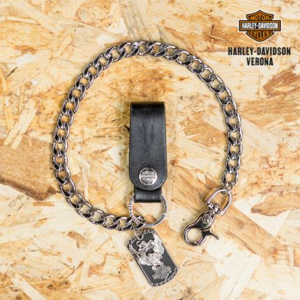 "Catena da portafoglio Harley-Davidson® "" Replay Eagle with B&S® Medallion """