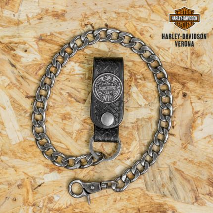 Harley-Davidson® Road Slayer Eagle with B&S® Wallet Chain