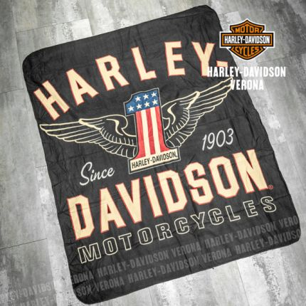 Coperta Harley-Davidson® All American Fleece