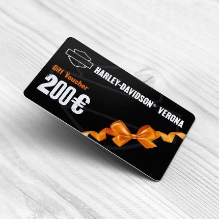 Gift Card Harley Davidson Verona-200 Euro