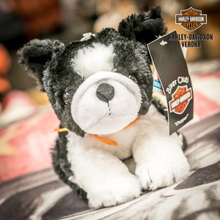 Peluche Cagnolino blk&wht Harley-Davidson®