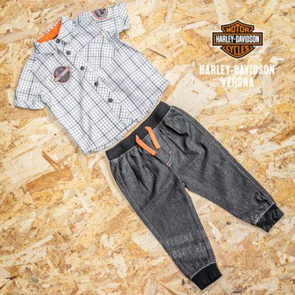 Set Pantaloncini e camicetta Harley-Davidson® da bambino