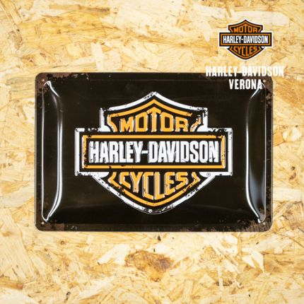 Insegna Metallica Harley-Davidson® B&S Logo