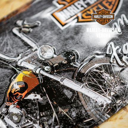 Insegna Metalllica Harley-Davidson® Favourite Ride