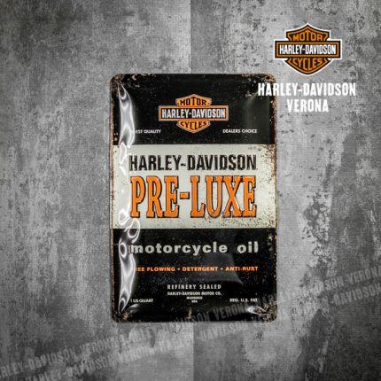 Insegna Metallica Harley-Davidson® Pre-Luxe
