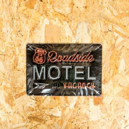 Insegna Metallica Harley-Davidson®  MOTEL