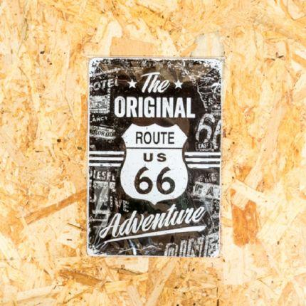 Insegna Metallica Harley-Davidson® ORIGINAL ROUTE