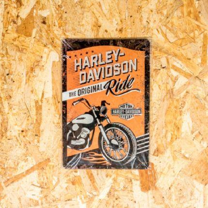 Insegna Metallica Harley-Davidson® THE ORIGINAL RIDE