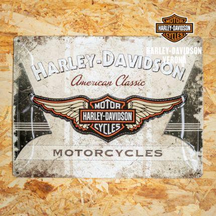 Insegna Metallica Harley-Davidson® American Classic