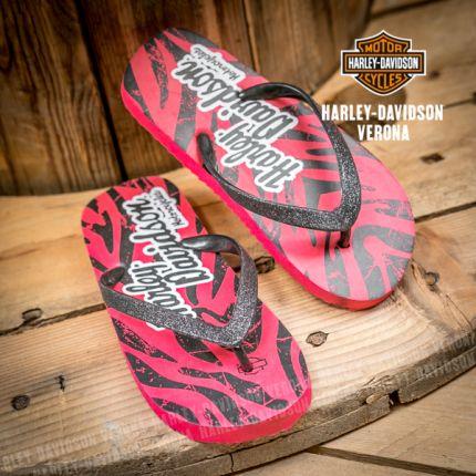 Infradito zebrate Harley-Davidson®