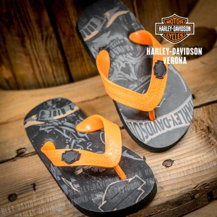 Infradito bambino Harley-Davidson® Skull