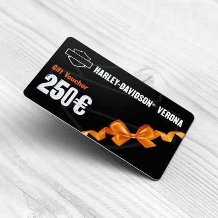 Gift Card Harley Davidson Verona-250 Euro