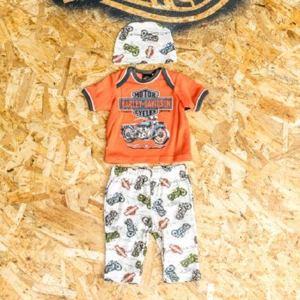 Completino Regalo 3 Pezzi Harley-Davidson® Baby