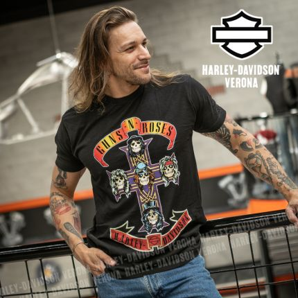 T-Shirt  Guns N' Roses Harley-Davidson® Appetite for Destruction