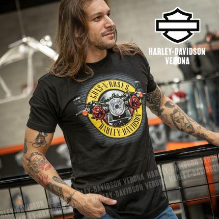 T-Shirt Guns N' Roses Harley-Davidson® Cover