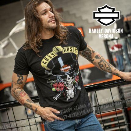 T-Shirt Guns N' Roses Harley-Davidson® Top Hat