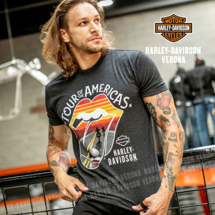 T-Shirt da Uomo Harley-Davidson® Rolling Stone Amer Tour