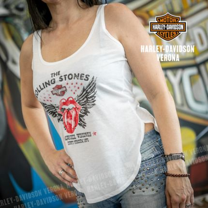 Canotta Harley-Davidson® Rolling Stones Winged