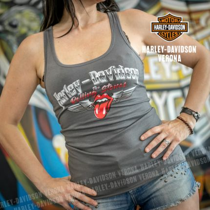 Canotta Harley-Davidson® Rolling Stones Chrome Wings