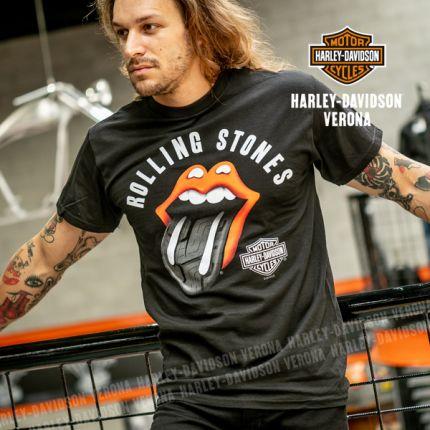 T-Shirt da Uomo Harley-Davidson® Rolling Stones Tire Tread