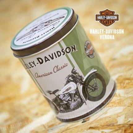 Barattolo di latta Harley Davidson® Verde