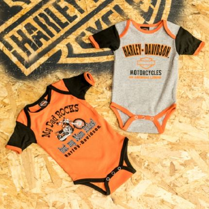 Set 2 Pezzi Tutina Harley-Davidson® Mom Rules