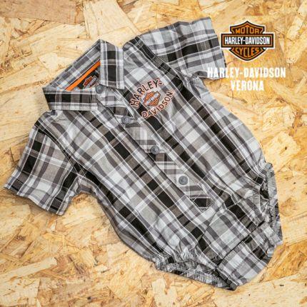 Body-camicia scozzese Harley-Davidson®