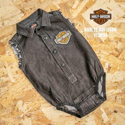 Body-camicia in jeans senza maniche Harley-Davidson®