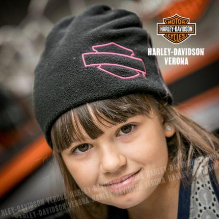 Berretto tecnico in pile da bambina Harley-Davidson®