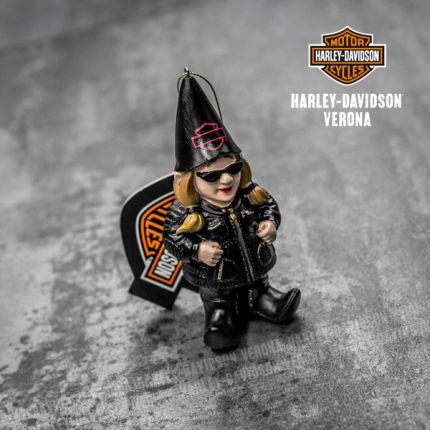 Gnometta Harley-Davidson® Ornament