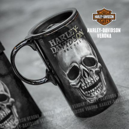 Tazza da viaggio Tall Boy Harley-Davidson® Teschio