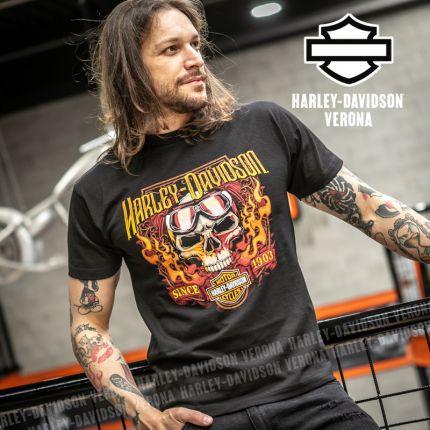 T-Shirt H-D® Verona Goggle Skull