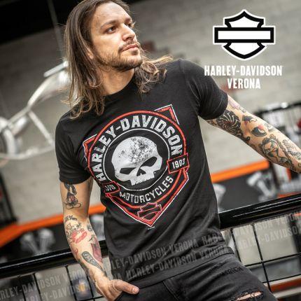 T-Shirt H-D® Verona Ragged