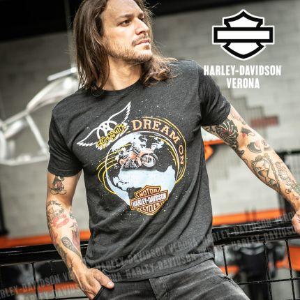 T-Shirt Aerosmith Harley-Davidson® Dream On