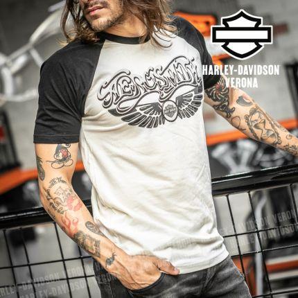 T-Shirt Aerosmith Harley-Davidson® Pump on Black