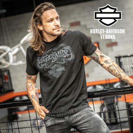 T-Shirt Aerosmith Harley-Davidson® Toxic Twin