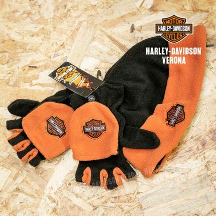 Set cappellino e guanti Harley-Davidson® in pile