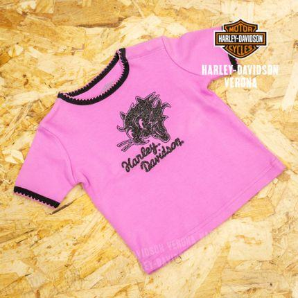 T-Shirt Bimba Harley-Davidson® Glitter