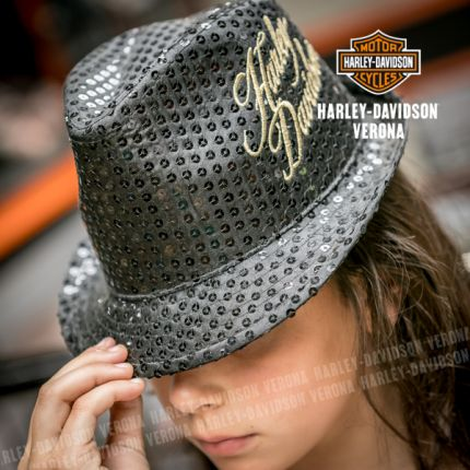 Cappello borsalino da bambina Harley-Davidson®