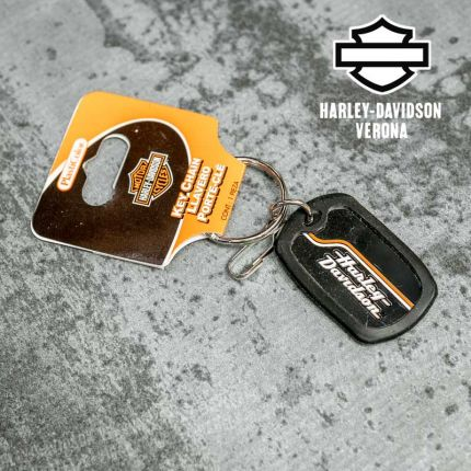 Portachiavi Harley-Davidson® Stacked Logo