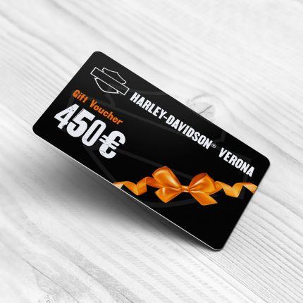 Gift Card Harley Davidson Verona-450 Euro