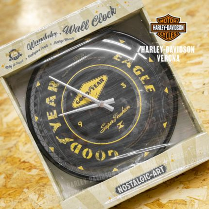 Orologio in stile Harley-Davidson® Goodyear Well