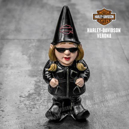Gnoma Donna da Giardino Harley-Davidson®