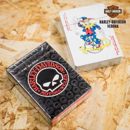 Harley-Davidson® Willie G Skull carte da gioco