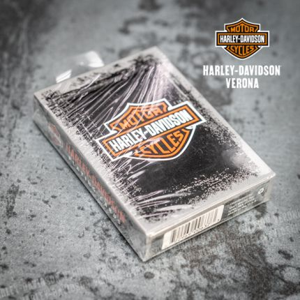 Harley-Davidson® Rustic Bar & Shield carte da gioco